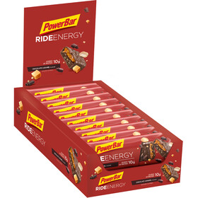 PowerBar RideEnergy Bar Sacoche 18x55g, Chocolate-Caramel
